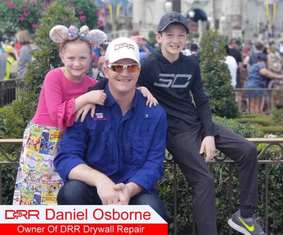 Daniel Osborne Owner Of DRR Drywall Repair